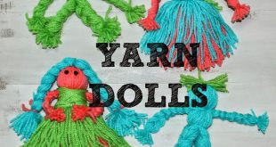 Yarn Dolls!  2019  My daughter went to an Activity Day camp for church. Not an o...