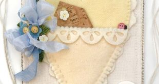 Free Pattern & Tutorial: May Handmade Heartfelt Banner