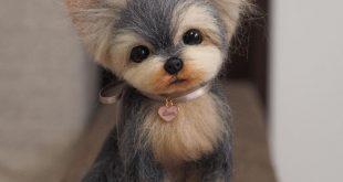Wonder Zoo Needle Felted Wool Animals Projects Inspiration & Ideas #NeedleFelt...