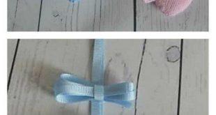 Amigurumi Baby Footprints Muster