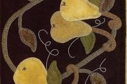 Anjou Pears Applique Pattern