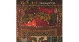 C&t Seasons of Wool Applique Folk Art Bk, Multicolor