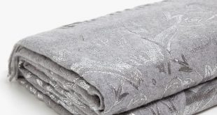 FLORAL PRINT FOIL WOOL BLANKET - BLANKETS - BEDROOM | Zara Home United States of...