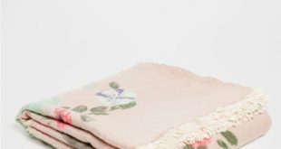 FLORAL PRINT WOOL BLANKET - Throws - Bedroom | Zara Home United States