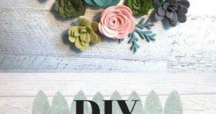 Flowers Diy Felt Sewing 15+ Ideas