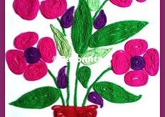 Here is a collection of wool crafts for the growing children from the age of 4 t...