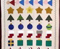 Let Your Light Shine Sampler/Banner/Ornaments Pattern by BetsyLou Pattern Company
