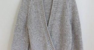 Melierter Oversize Cardigan #03 aus LAMANA Magazin 07