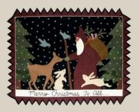 Merry Christmas to All by Bonnie Sullivan of All Through the Night