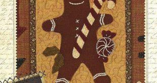 Primitive Folk Art Wool Applique Pattern LIVE by PrimFolkArtShop $4.95  2019  Pr...