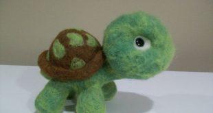 Schildkröte Schildkröte Wolle Nadel Filz von TangleWools auf Etsy