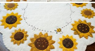 Simply Sweet Mats - August - Wool Kit