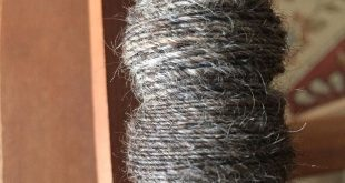#Spinning some #romney wool today. It's beautiful. I love seeing the fiber go fr...