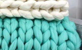 The Softest Blanket in the World. 100% Merino Wool.