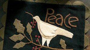 Tidings of Peace Table Mat
