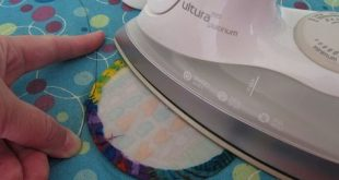 Tutorial: How to applique perfect circles DON'T USE STEAM. DON'T TURN IT...