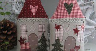 Weihnachts Haus Landhaus Geldgeschenk von Feinerlei auf DaWanda.com: