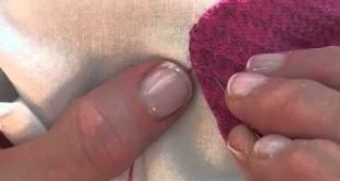Wool Applique With A Blanket Stitch YouTube From Becky Goldsmith of Piece O 20...