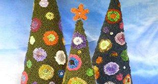 hooked Christmas tree-o ! Susan Ferraro