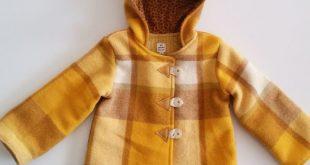 upcycled vintage wool blanket coat. Woolen от LittleThingsByJodie  2019  upcyc...