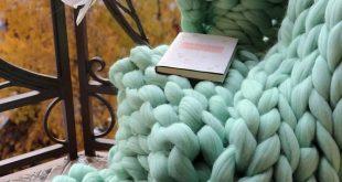 Merino Wool Blanket, Wool Blanket, Marino Wool, Chunky Wool Blanket, Wool Blankets, Heavy Blanket, Chunky Knit Blanket, Chunky Knit