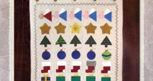 20% OFF PATTERN Wool Applique'  - Let Your Light Shine - Christmas Sampler a...