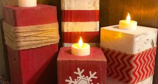 30+ Elegant Christmas Candles Decoration Ideas
