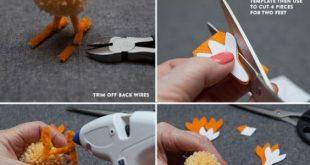 42 SuperCute Pom Pom Crafts for Kids to Try