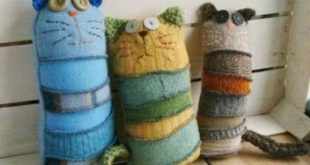 45 Best Ideas sewing projects stuffed animals wool sweaters