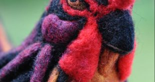 Artistic Felted Expressions of Life