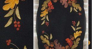 Assorted Fall appliqué patterns