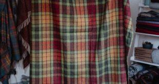 Autumn Buchanan Tartan Wool Blanket | The Tartan Blanket Co