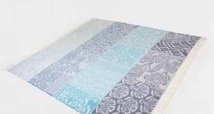 BLUE FLORAL WOOL BLANKET - Bedroom - Jaipur - Shop by collection | Zara Home Uni...