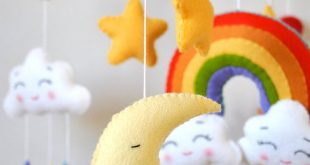 Baby mobile Rainbow Clouds mobile Moon mobile Nursery mobile Cot mobile Crib mobile Sun Stars Hanging mobile Baby shower gift