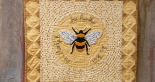 Bee Humble Wool Applique Quilt Pattern