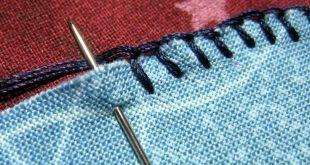Blanket Stitch an Applique