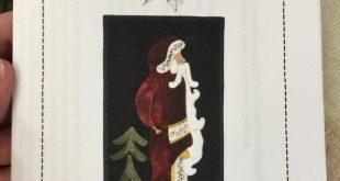 Christmas Kringle wool applique kit