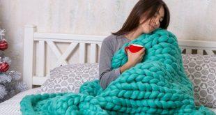 Chunky knit blanket Australian merino wool blanket chunky blanket super chunky  ...