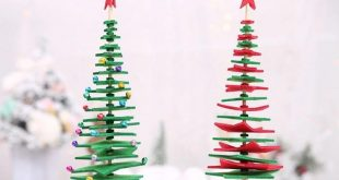 Creative Tabletop Wool Felt Christmas Tree Xmas Desktop Craft Decor Party Ornaments for Children Gift Home Store Decoration