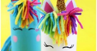 DIY Unicorn Craft Using Toilet Tubes  2019  Here is the cutest unicorn craft whi...