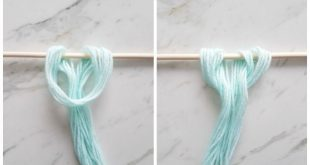 DIY Wall Hanging | Make this amazing yarn wall hanging with this easy to follow ...