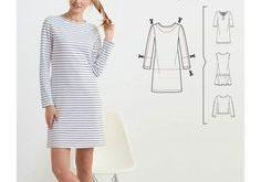 Dieses Kleid lässt sich mit wenigen Handgriffen zu etwas ganz besonderem machen...