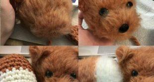 Dog Amigurumi Pattern - Brush Crochet