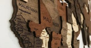 Drücken Sie Pin Weltkarte Holz Reise-Karte der Welt Wand Home | Etsy