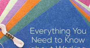 Everything You Need to Know about Working with Felt