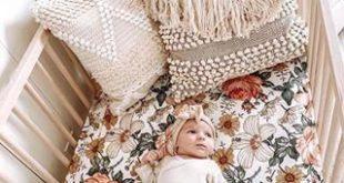 Floral Swaddle Blankets | Mini Scout #kidsbedroom