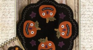 Folkart Penny Mats Thru the Year October Jacks By West, Stacy