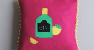 Gin Cushion