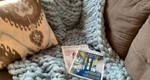Handmade Chunky Wool Throw Blanket Dimensions: 45x53 Made with  60% polyester 20...