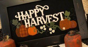 Happy Harvest Wool Applique Kit